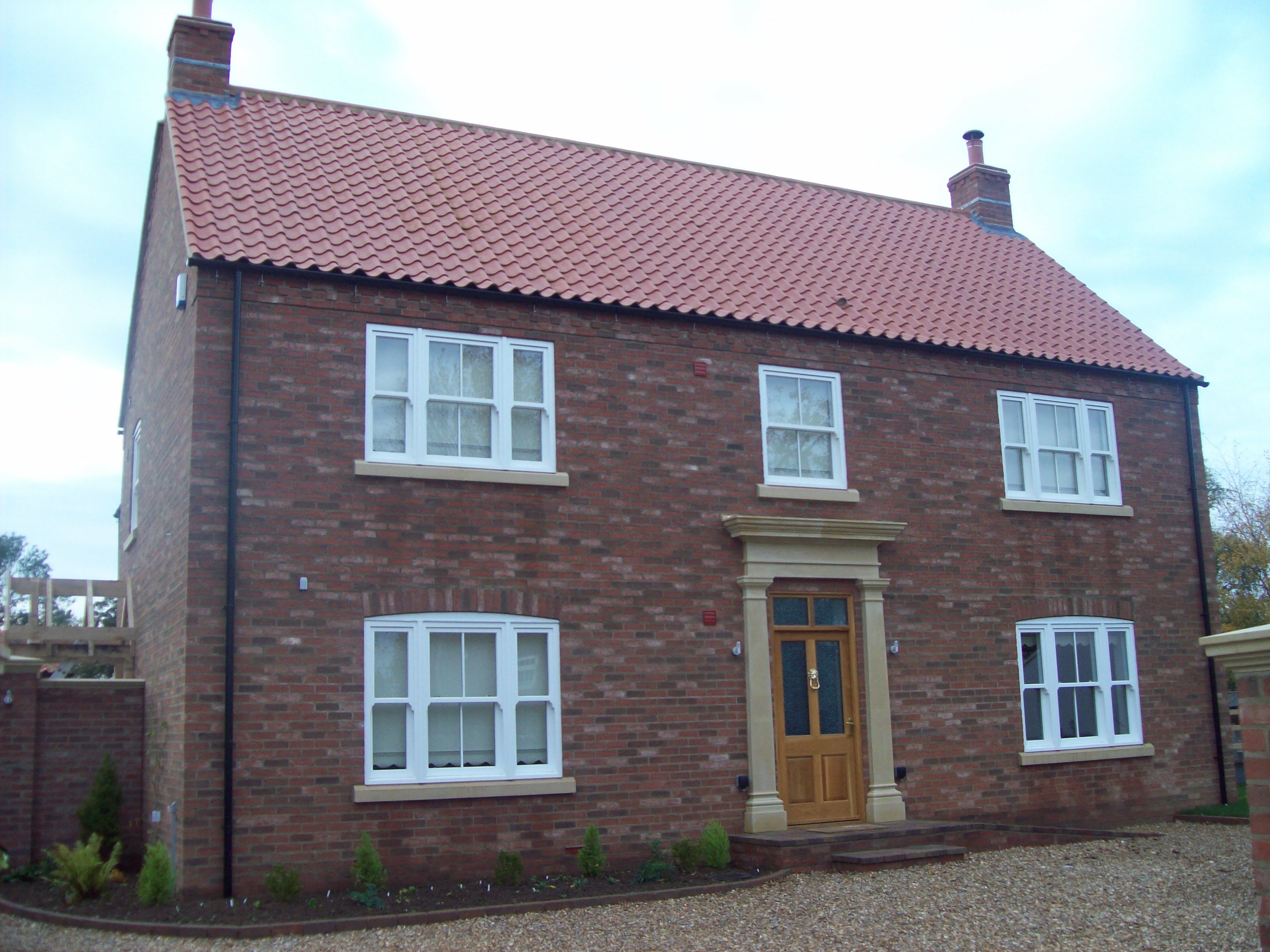Architect services for new house in louth grimsby for 4 bed new build house