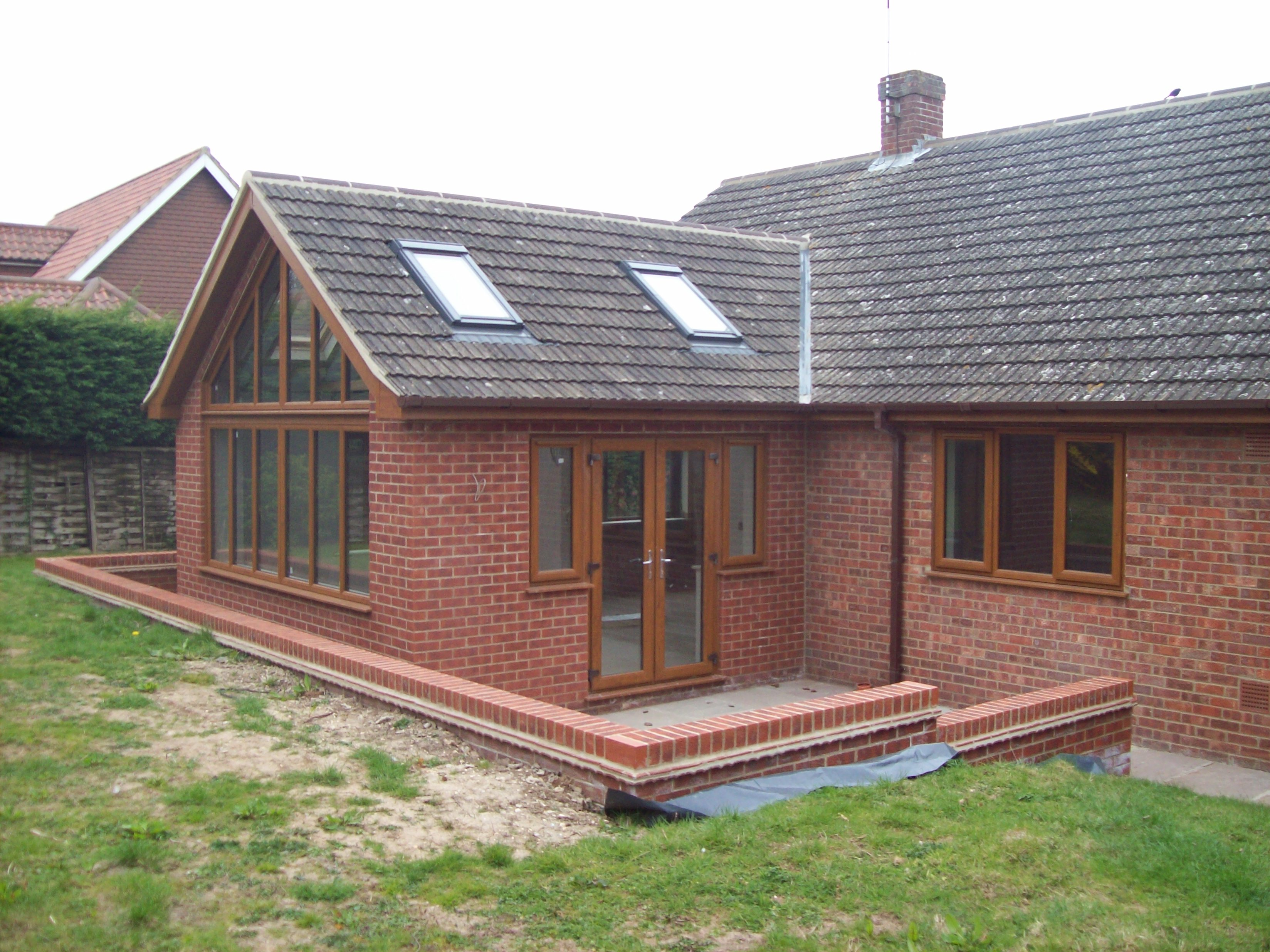 Planning an extension in louth grimsby lincoln and for Porch designs for bungalows uk